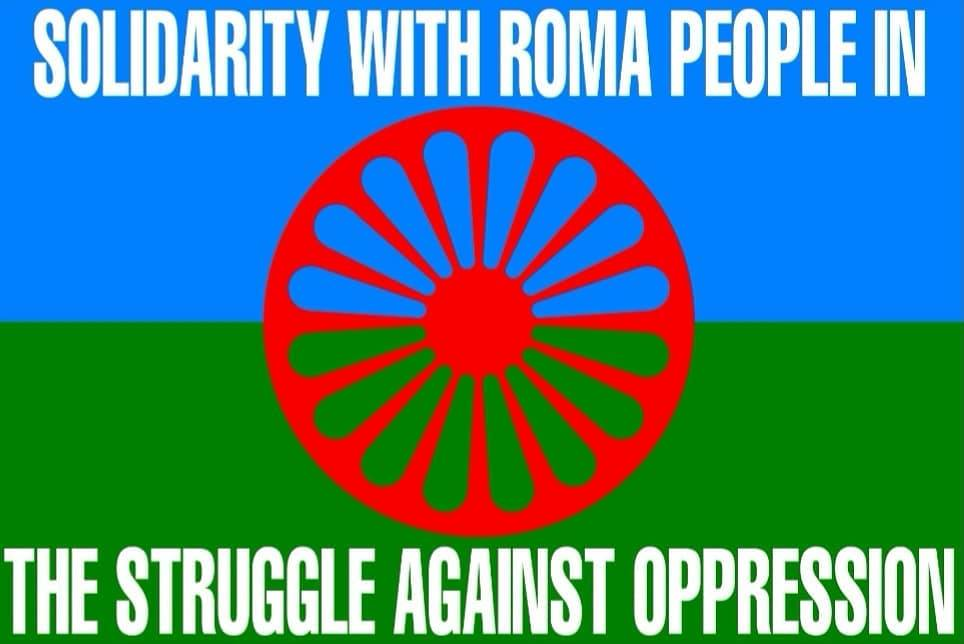 Solidarity with Roma people!