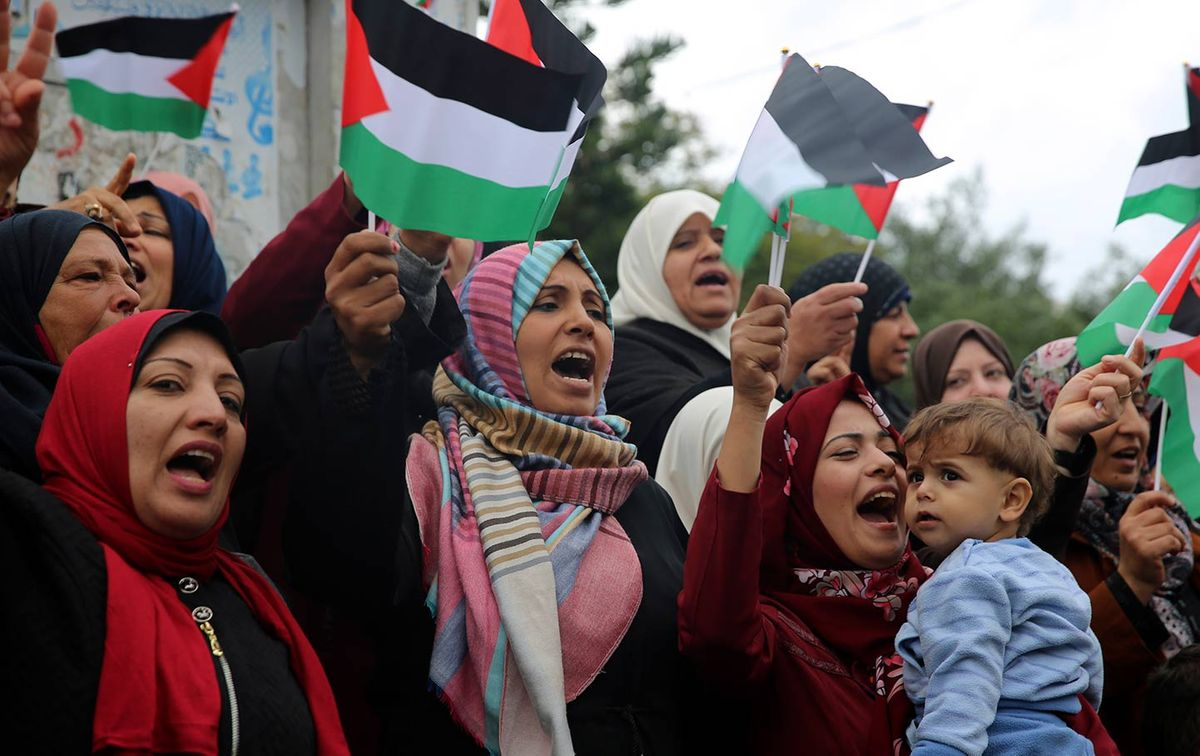 Palestine: Liberation not annexation!